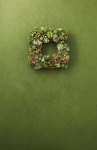 Cactus Christmas Wreath