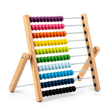 Wooden Child Toy Abacus Isolat...
