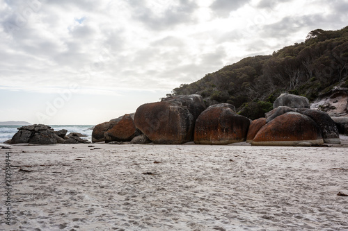 Vászonkép Squeaky Beach, Wilsons promontory, Victoria, Australia.