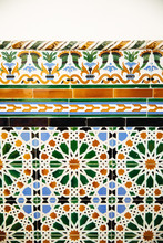 Colorful Tile On The Wall