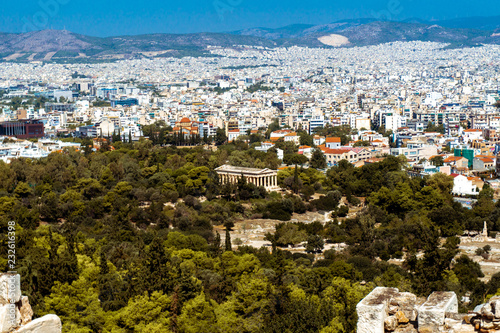 view of the city of Athens