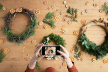 Photo Of Xmas Wreaths