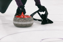 Curling: Female Thrower About ...