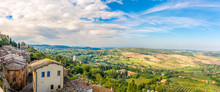 Panoramic View At The Tuscany ...
