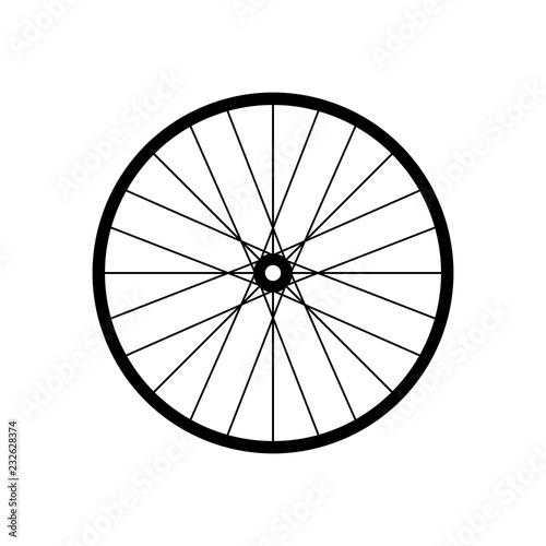 Fotografering Bicycle (bike) wire wheel