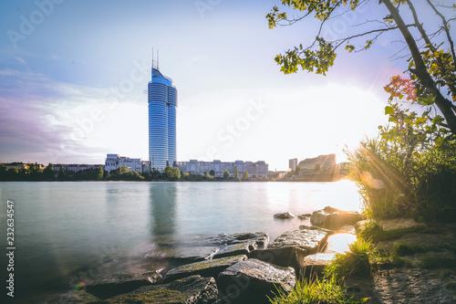 Wien, Millenniumtower Fototapet