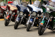 Motorcycles Side By Side