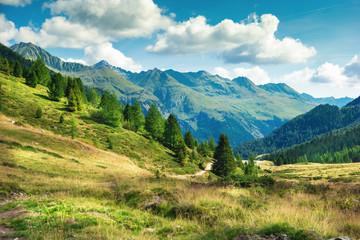 vista panoramica montagne dolomitiche