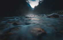 Savinja River Flowing Through ...