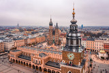 Fototapeta Na sufit - Kraków z lotu ptaka