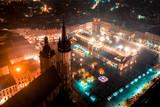 Fototapeta London - Kraków z lotu ptaka