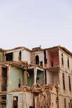 Dilapidated And Broken Down Bu...