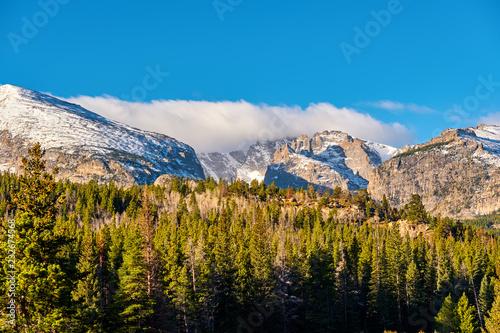 Spoed Foto op Canvas Verenigde Staten Autumn in Rocky Mountains, Colorado