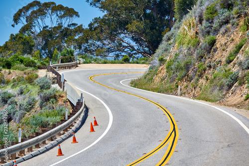 Spoed Foto op Canvas Verenigde Staten Highway 1 on the pacific coast, California, USA.