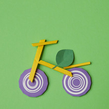 Bike Figure From Food