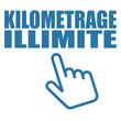 Logo kilométrage illimité.