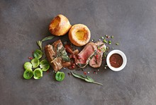 Roast Beef With Yorkshir...