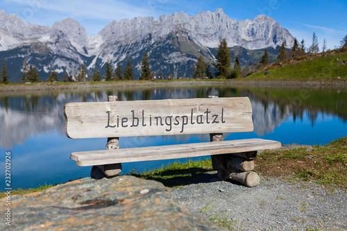 Obraz na plátně Lieblingsplatzl