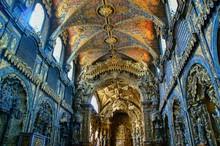 Interior Da Igreja De Santa Clara