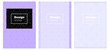 Light Purple vector style guide for notepads.