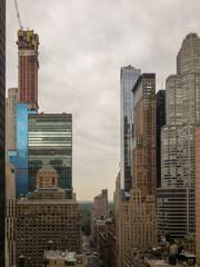 Fototapeta na wymiar Aerial View - Midtown Manhattan