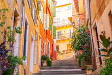 Colorful Buildings In Nice On ...
