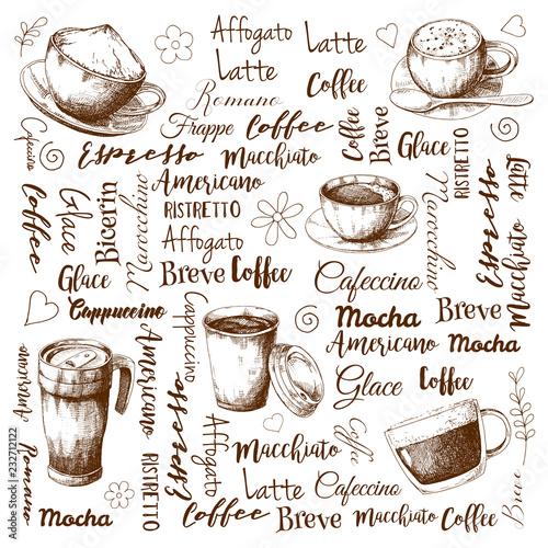 Tapety z jedzeniem i napojami nazwy-roznych-rodzajow-kawy-rozne