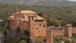 Collegiate church in medieval Alquézar, Huesca Aragon, Spain