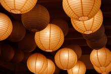 Paper Lantern On Ceiling
