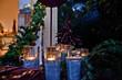 canvas print picture - stimmungsvolle Dekoration mit Kerzen