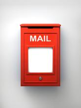 Post Box 3d Illustration