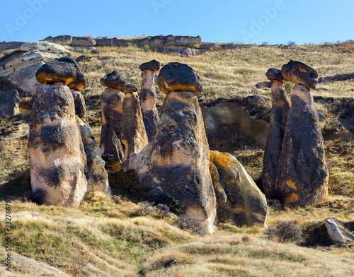 Foto  the stone of Cappadocia