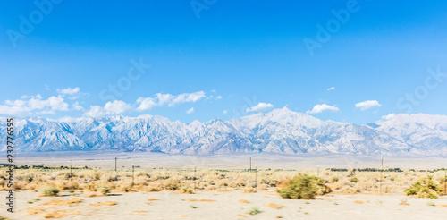 Spoed Foto op Canvas Verenigde Staten Typical desertic area in Nevada, USA