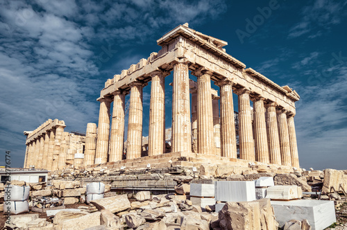 Obrazy Ateny  partenon-na-akropolu-w-atenach-grecja