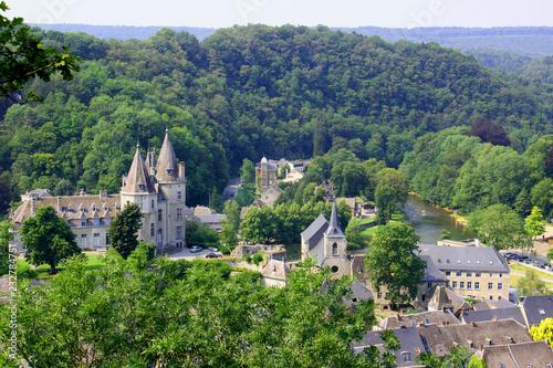 Fotomural Durbuy une ville Belge en Ardenne
