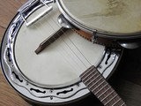 Close-up of two Brazilian musical instruments: samba banjo (strings) and pandeiro (percussion). They are widely used to accompany samba, the most famous Brazilian rhythm.
