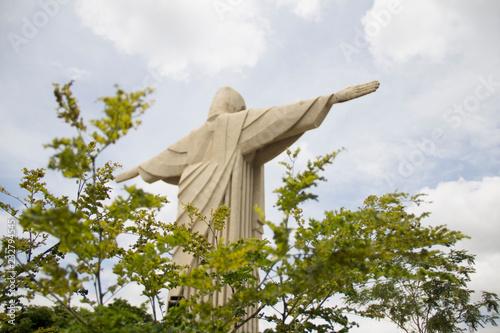 statue of jesus christ in rio de janeiro Canvas Print