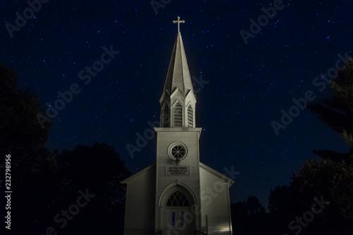 Leinwand Poster Church