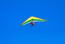 Hang-glider In The Sky