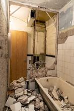 Old Bathroom Interior Before C...