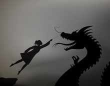 Girl Catching The Fairy Dragon...