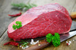 Rindfleisch Messer