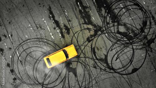Foto Car drifting