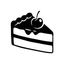 Cake Slice Drawing