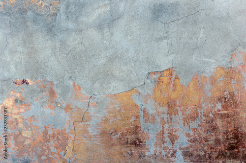 Foto  Old grunge concrete wall background or texture