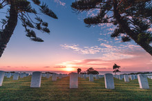 Fort Rosecrans National Cemetery, Point Loma, San Diego, California, USA