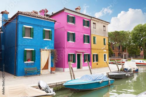 Foto op Aluminium Europese Plekken Colorful houses of Burano
