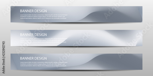 Fototapeta Abstract vector modern banner templates future Poster template design with colorful geometric background . Vector illustrations obraz