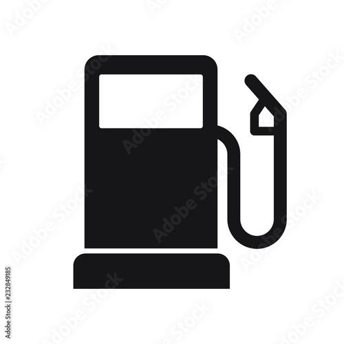 Gasoline pump icon, gas station sign, vector fuel sign Tableau sur Toile