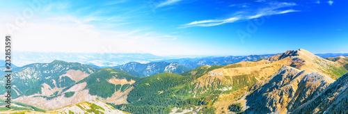 Spoed Foto op Canvas Zuid-Amerika land Mountain Low Tatras National Park